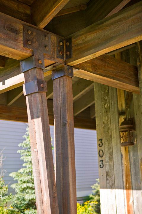 Breckenridge Historic Home - Exterior Detail