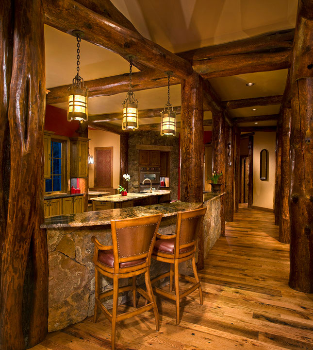 Baldy Estates Ranch - Kitchen Bar