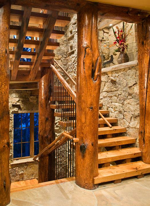 Baldy Estates Ranch - Stairway