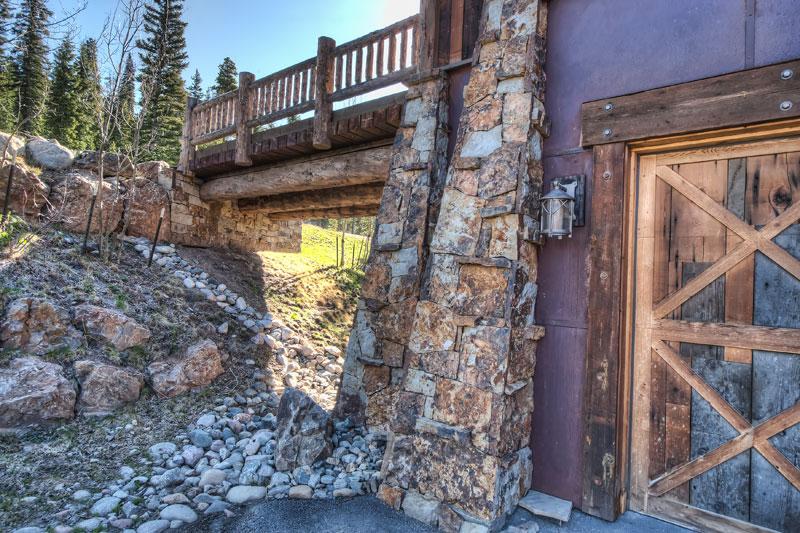 Baldy Mountain Ranch - Entry Bridge