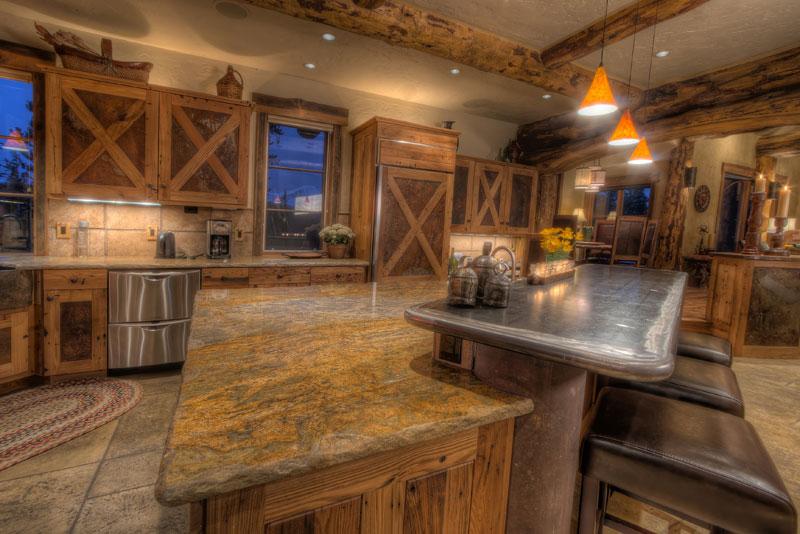 Baldy Mountain Ranch - Kitchen