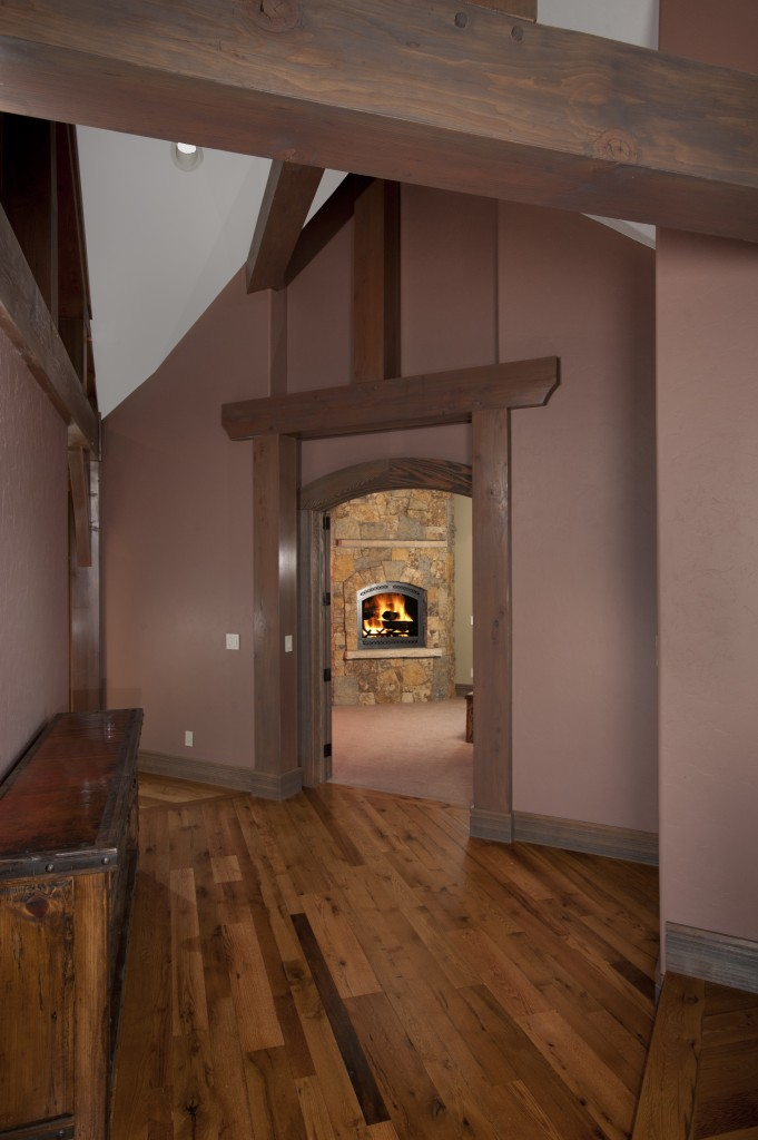 The Highlands Fireplace