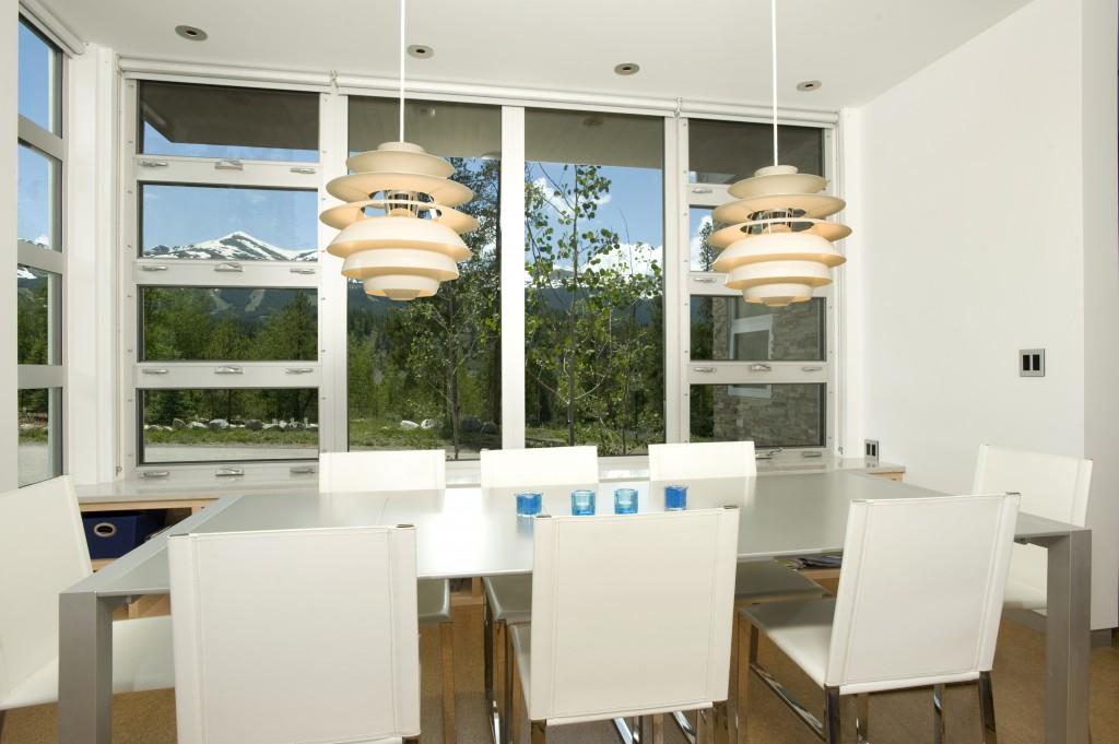 Mountain Modern Dining Room