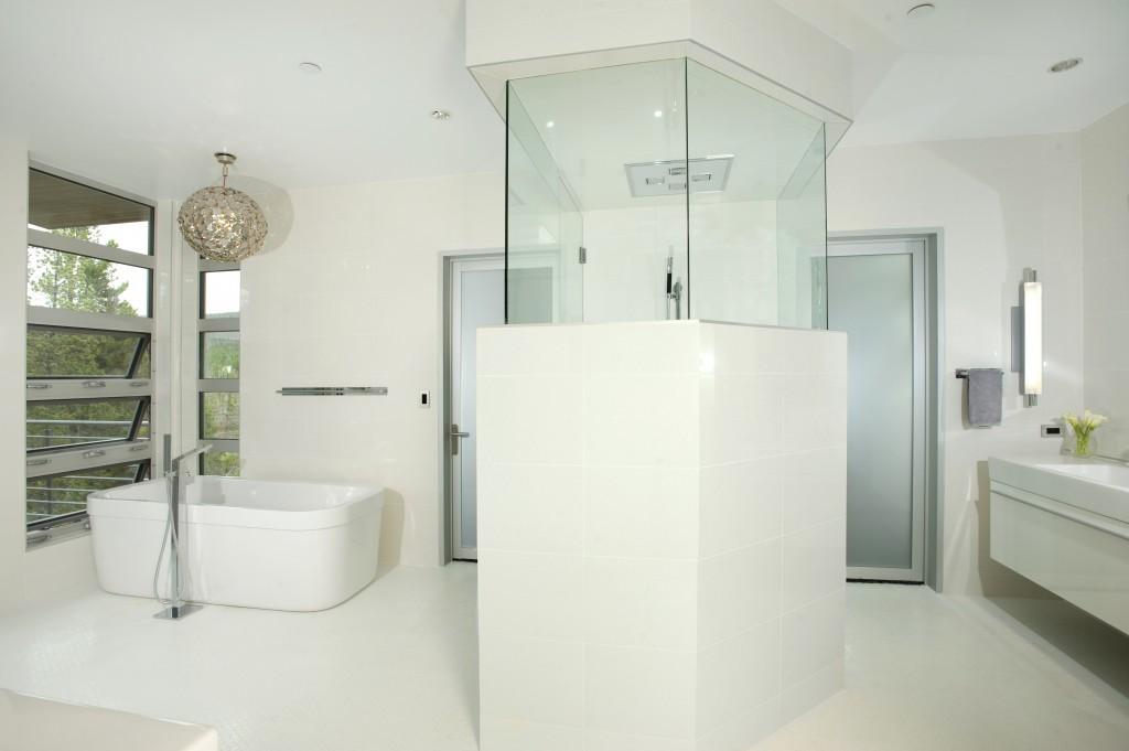 Mountain Modern Master Bath