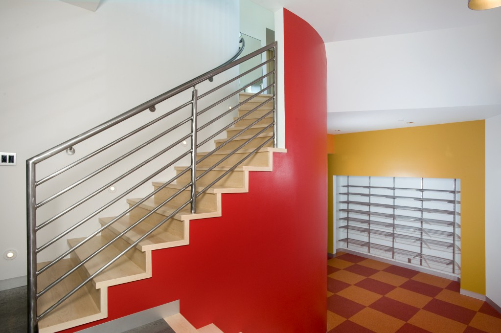Mountain Modern Stairs