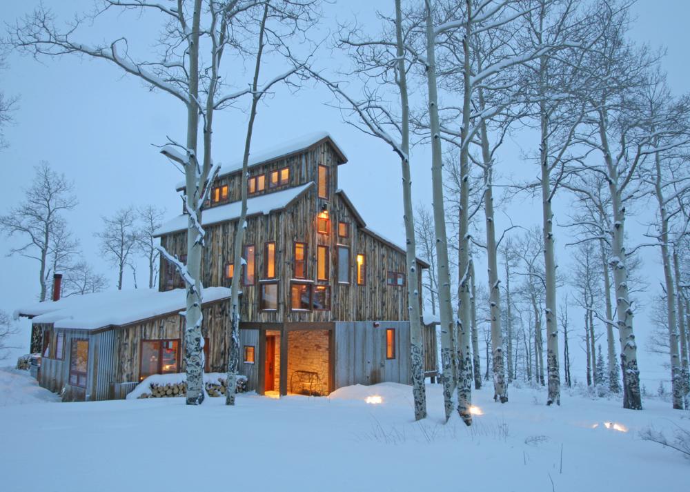 Mining House Custom Home
