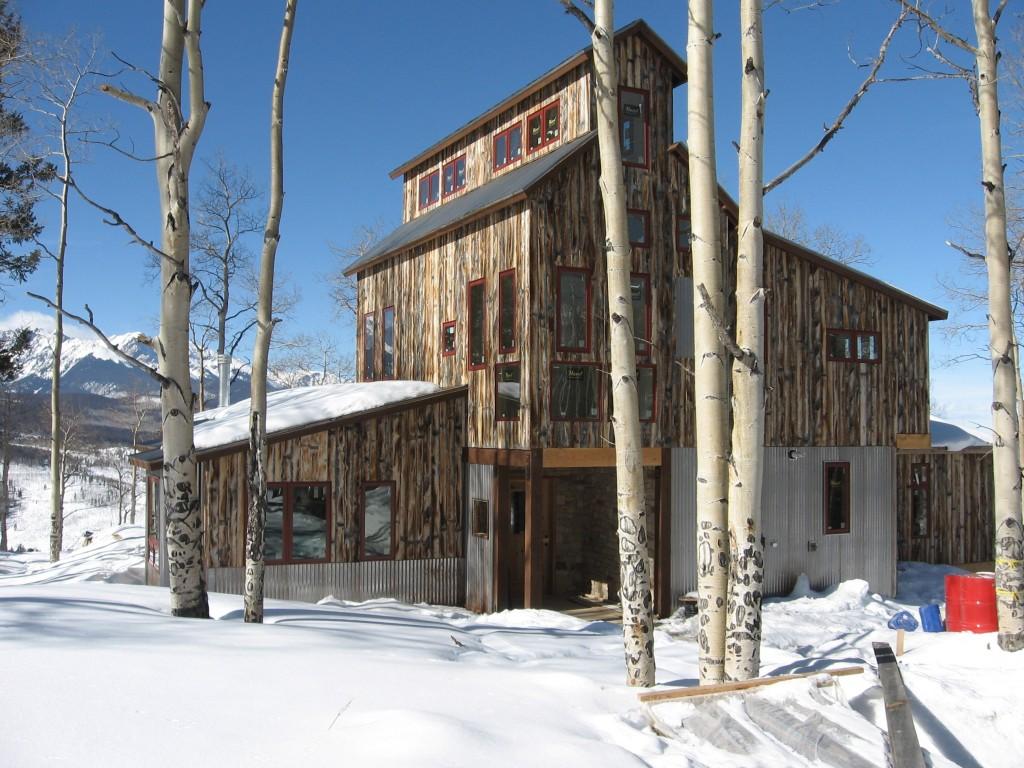Mining House Exterior