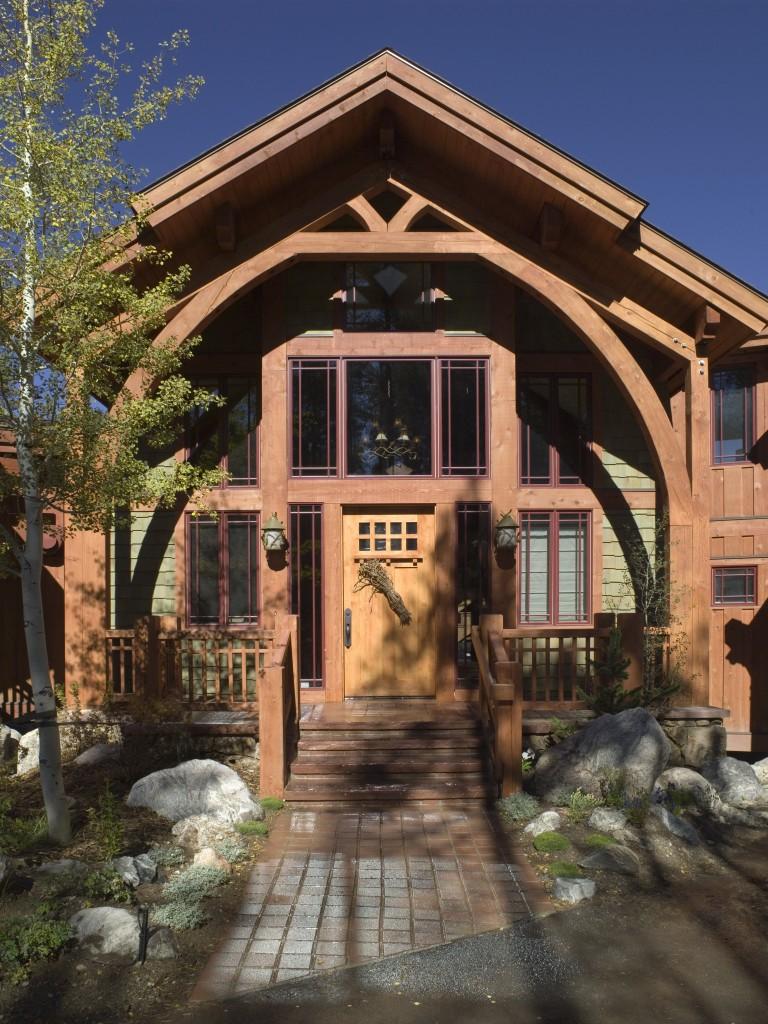 Craftsman Cottage Two Front Entrance