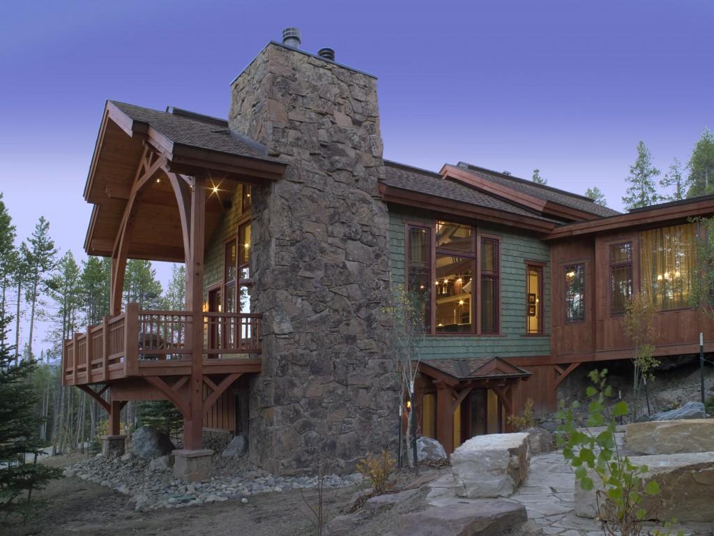 Craftsman Cottage Two Exterior Profile