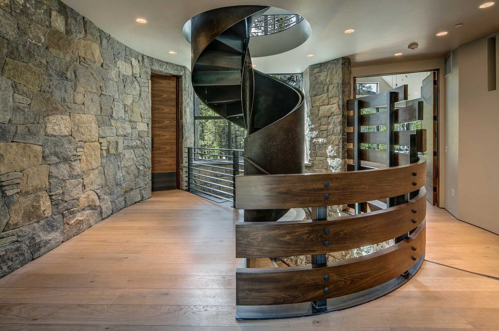 Shock Hill Circular Staircase