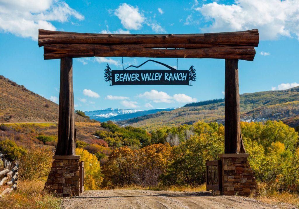 Beaver Valley Ranch Entrance