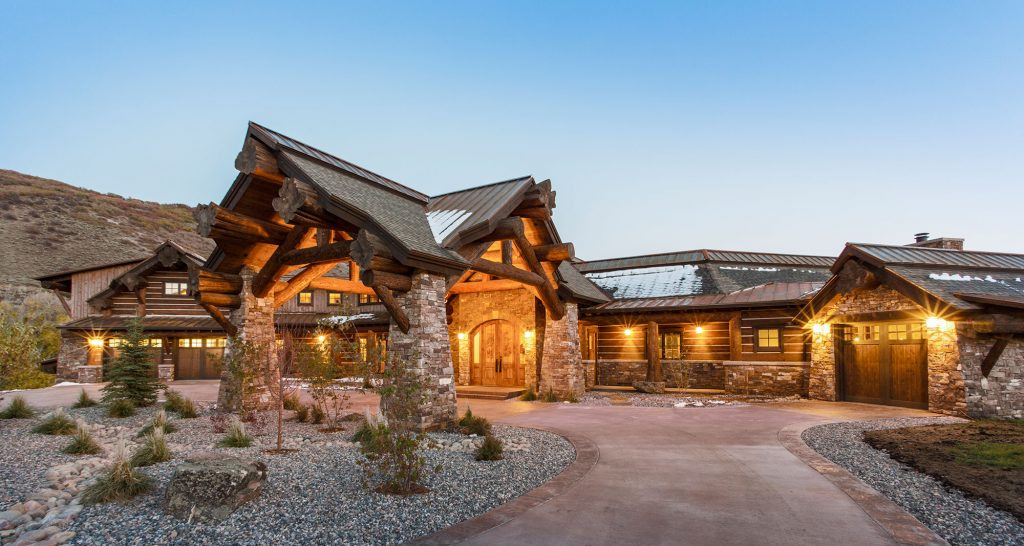 Beaver Valley Ranch Front Door angle