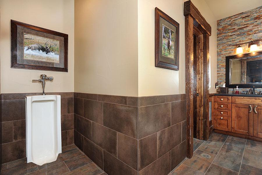 Equestrian Center Bathroom