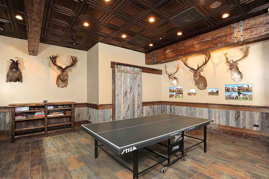 Equestrian Center Game Room