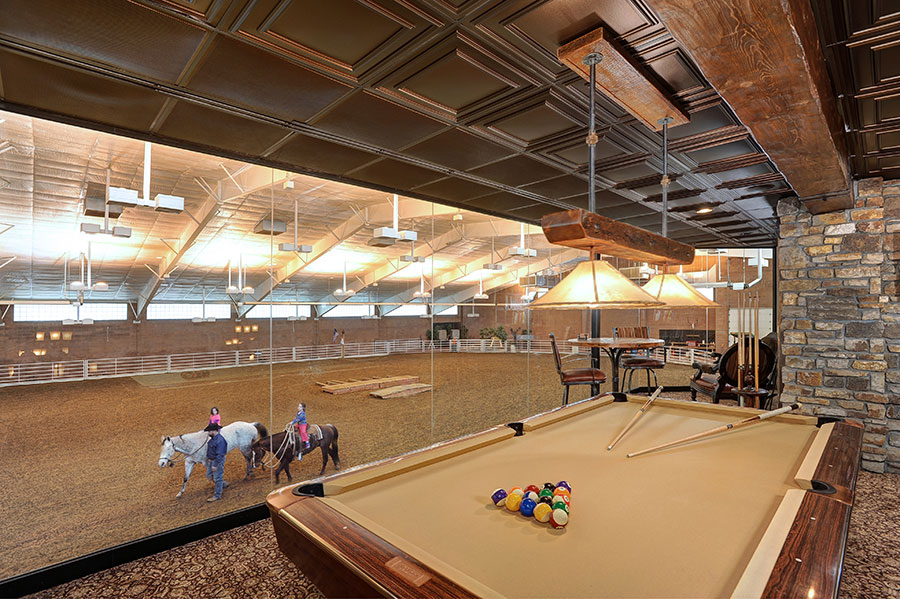 Equestrian Center Pool Table