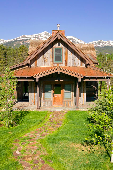 Breckenridge Historic Home - Custom Architecture