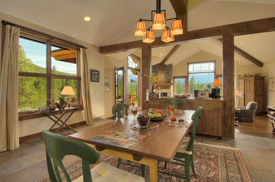 Craftsman Cottage - Dining Room