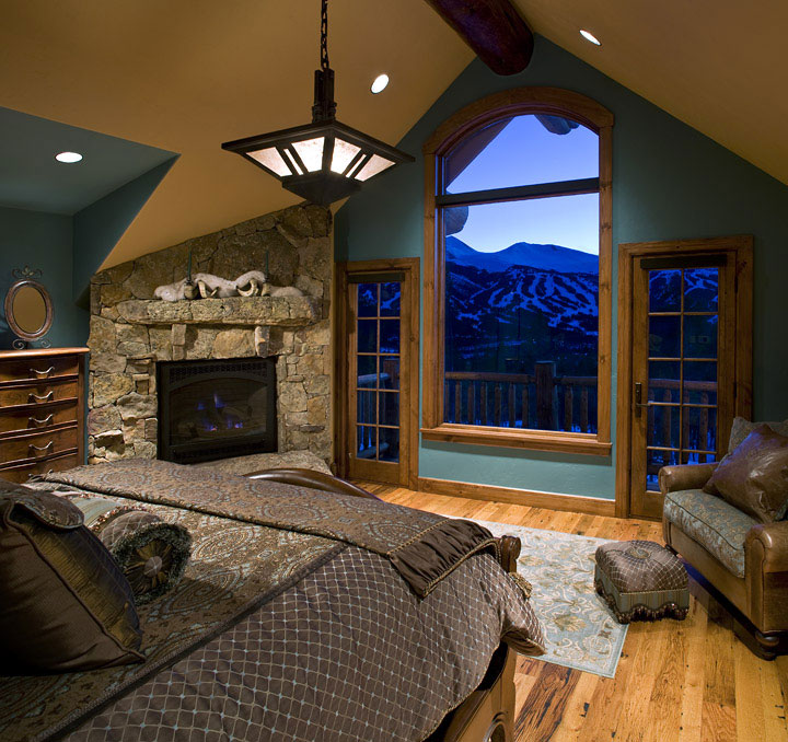 Baldy Estates Ranch - Master Bedroom