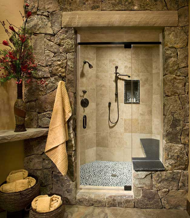 Baldy Estates Ranch - Master Shower