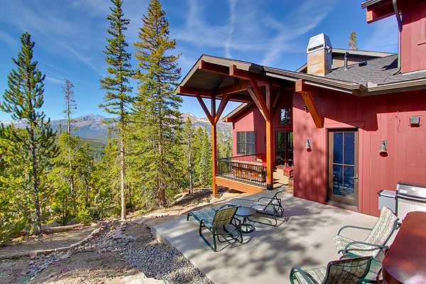 Miner's View Breckenridge Custom Home Exterior