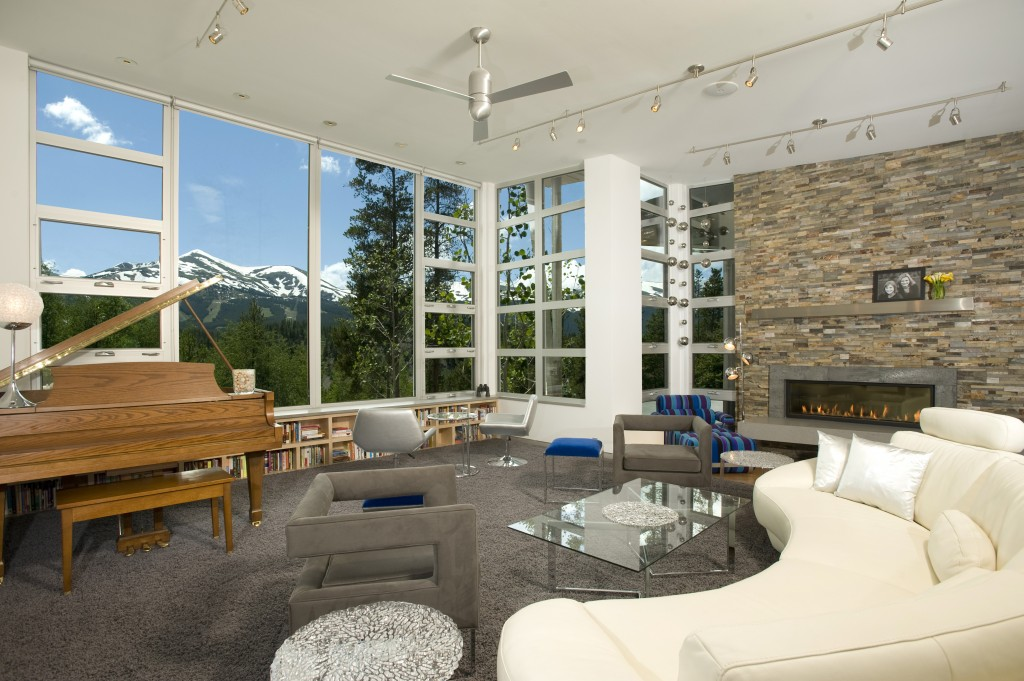 Mountain Modern Great Room