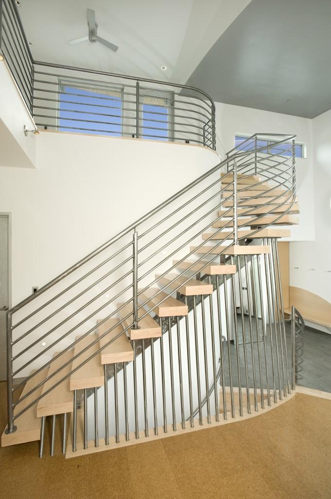 Mountain Modern Stairway