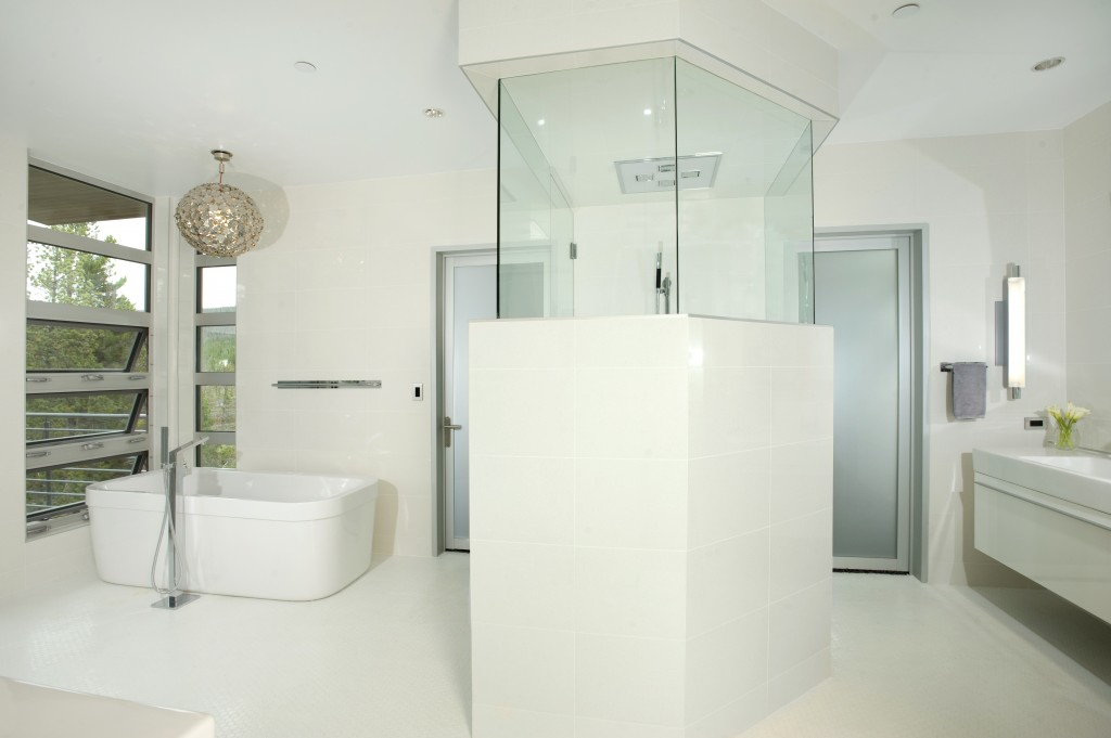 Mountain Modern Master Bath