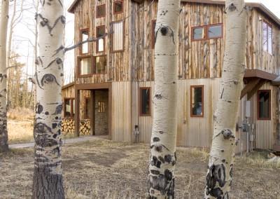 Fielder Residence - Photo - Exterior 6 - Through Aspens