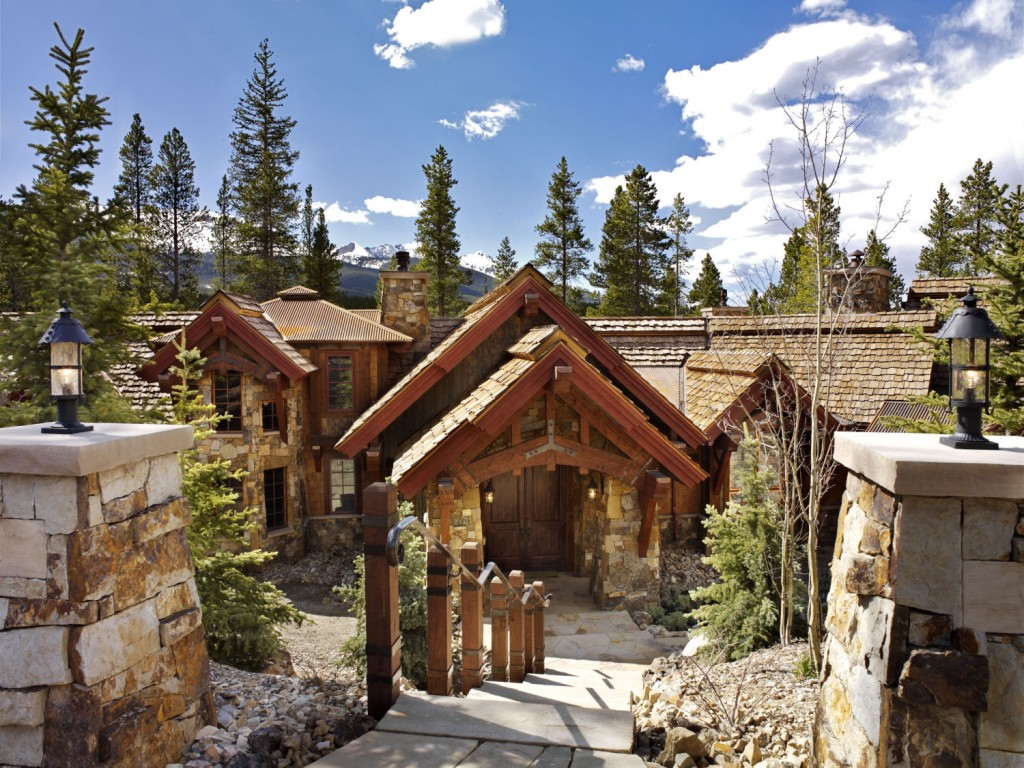 French Chateau Breckenridge Custom Home