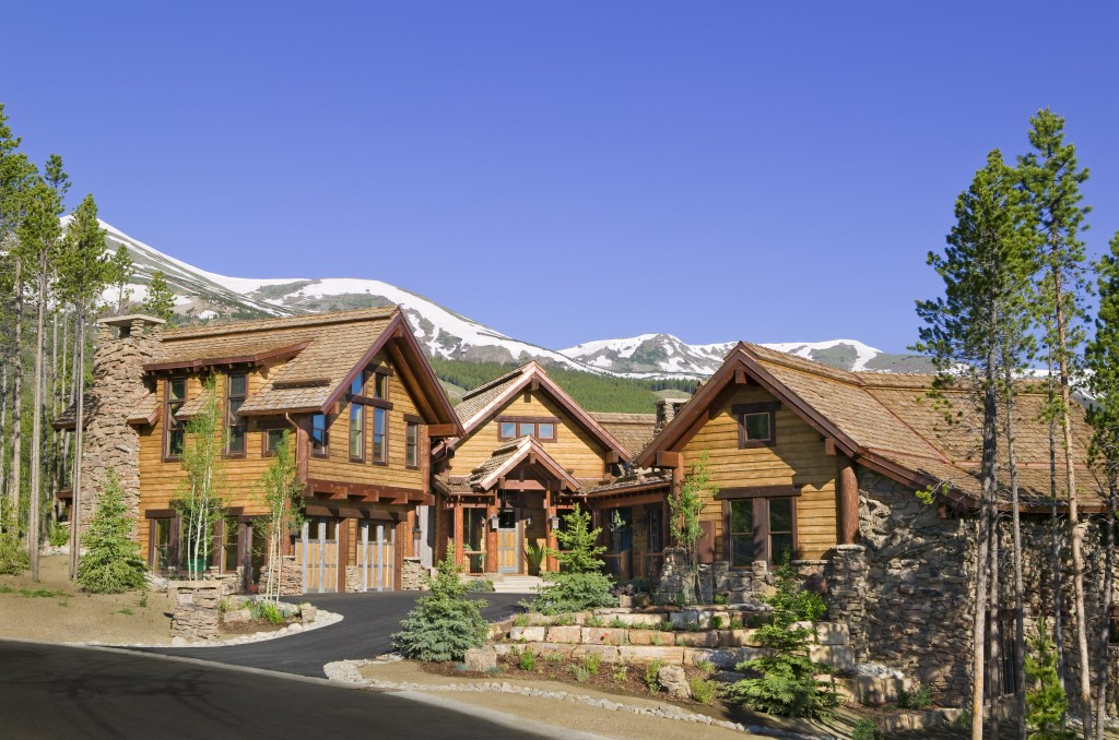 Timber Trail Breckenridge Custom Home Exterior