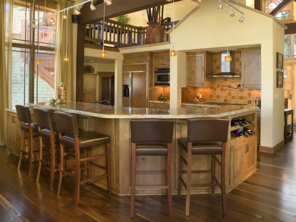 Craftsman Cottage Two Kitchen