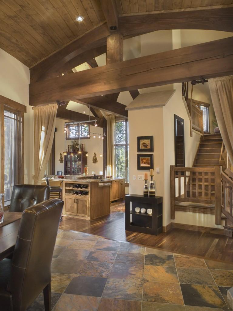 Craftsman Cottage Entry