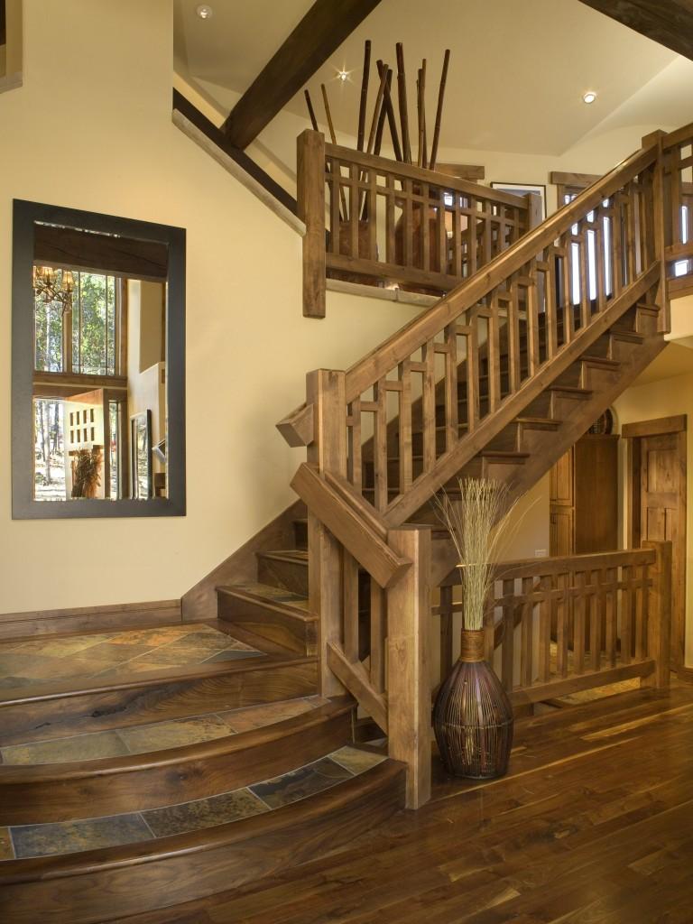 Craftsman Cottage Two Stairway