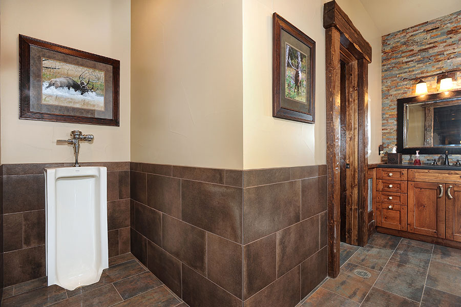 Equestrian Center Bathroom