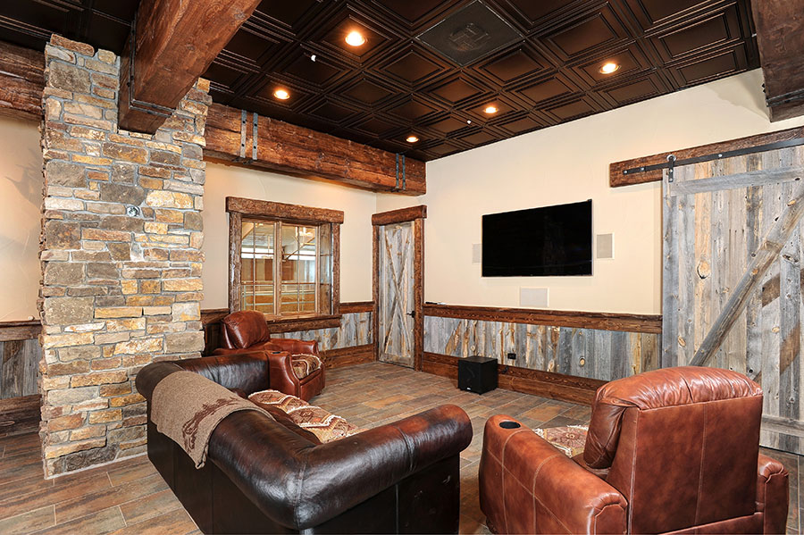 Equestrian Center TV Room
