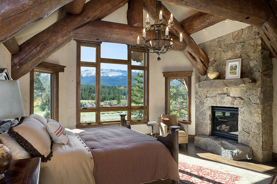 Lake View Master Bedroom
